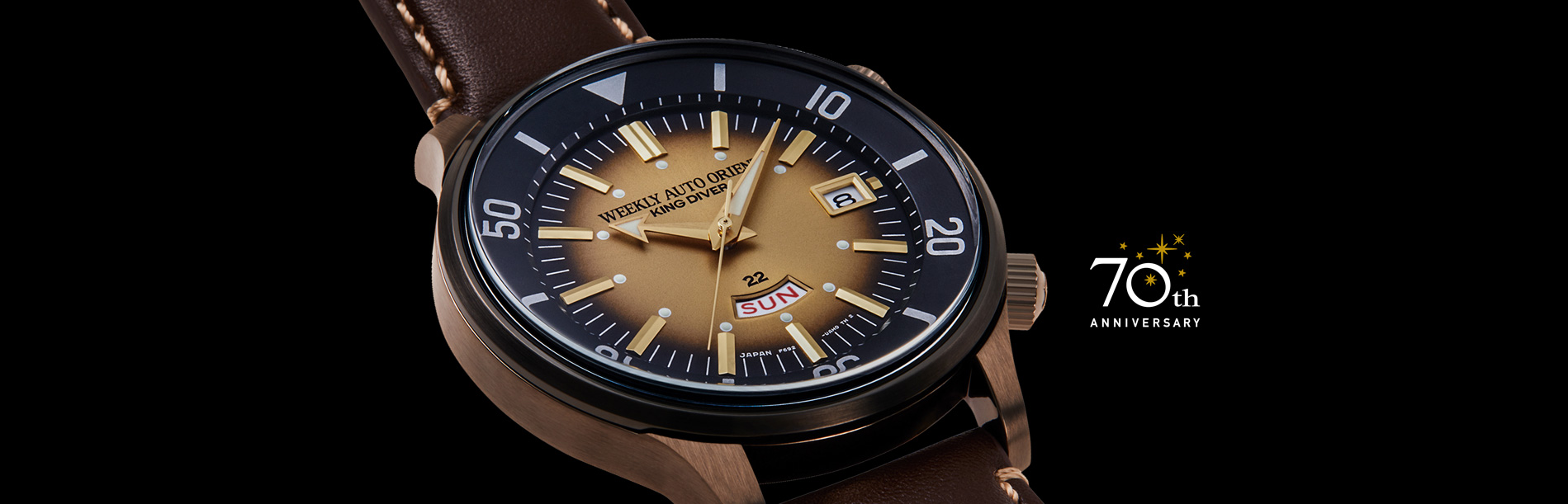 70 ANOS Weekly Auto Orient King Diver