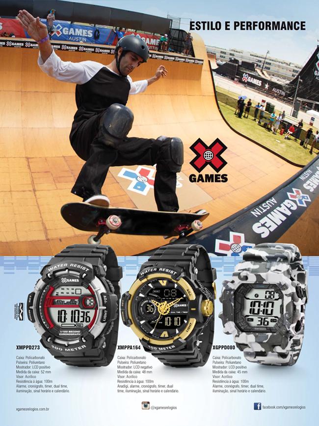 Campanha XGames 2015<br>Revistas